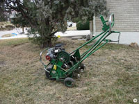 Lawn aeration:  during drought